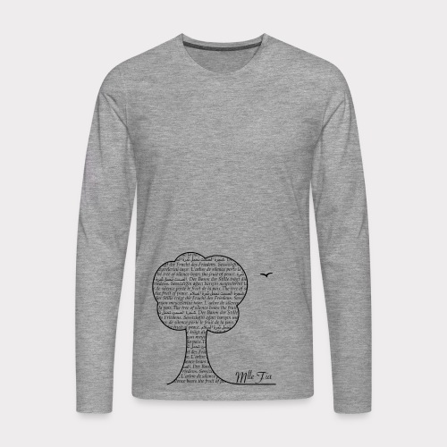 l.ongsleeve - t.ree - Männer Premium Langarmshirt