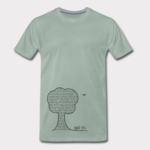 s.hirt - t.ree - Männer Premium T-Shirt