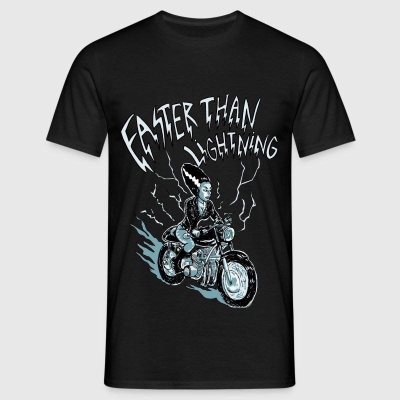 faster than lightning - T-shirt Homme