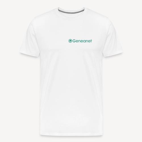T-shirt qualité supérieure homme - Geneanet - T-shirt Premium Homme