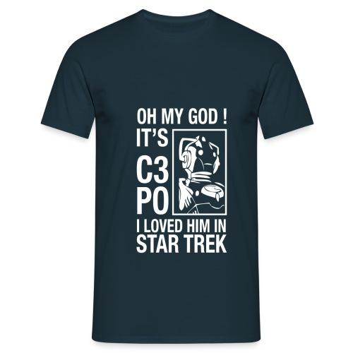 OMG C3PO Star Trek - T-shirt Homme