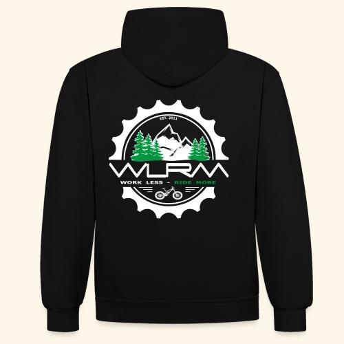 WRLM Team Hoody - Kontrast-Hoodie