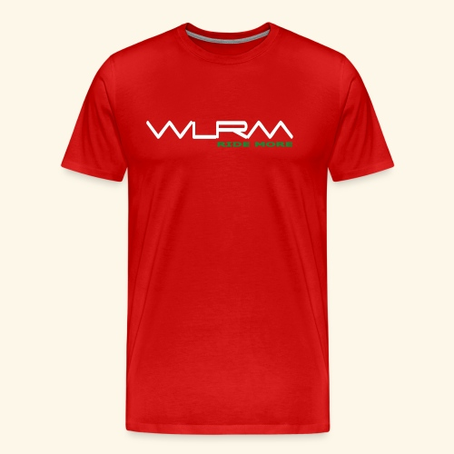 WRLM Team T-Shirt Red - Männer Premium T-Shirt