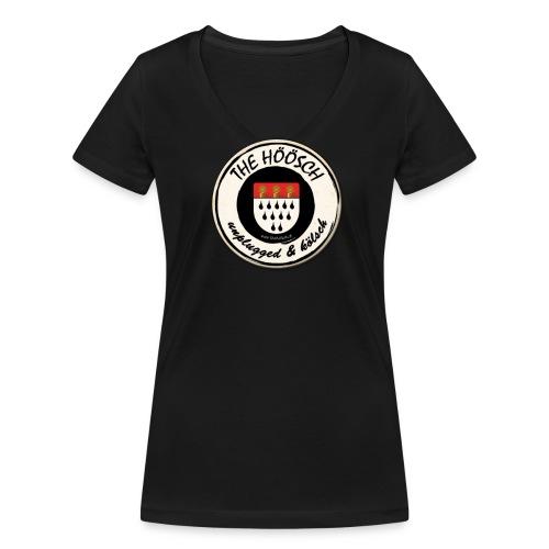 Höösch Shirt Damen  - Frauen Bio-T-Shirt mit V-Ausschnitt von Stanley & Stella