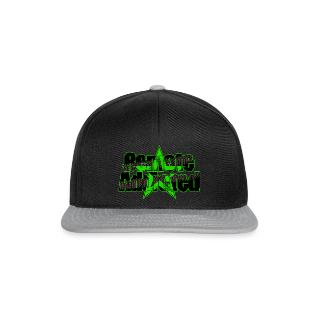 Remote Addicted Slime Snapback Cap