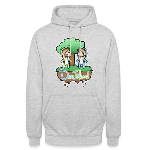 Unisex Dino Island Jumper - Unisex Hoodie