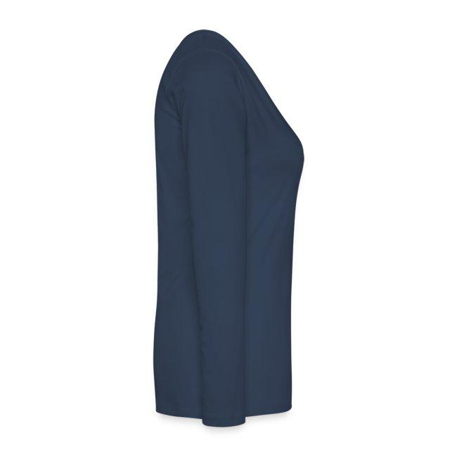 RKN Vrouwen Premium shirt met lange mouwen