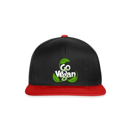 Go vegan Basecap - Snapback Cap