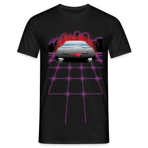 Night Rider City (black) - Männer T-Shirt