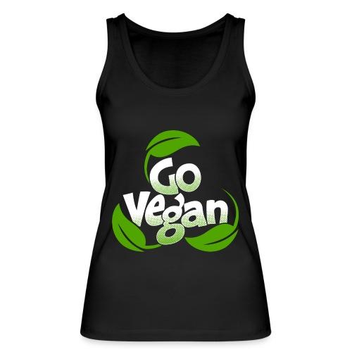 Go vegan Top Damen - Frauen Bio Tank Top von Stanley & Stella
