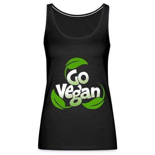 Go vegan Top Damen - Frauen Premium Tank Top