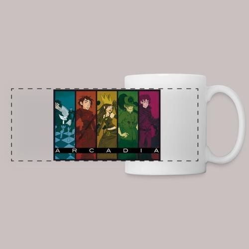 Mug Arcadia - Mug panoramique contrasté et blanc