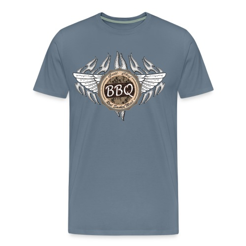 Grillmeister BBQ Chef - Männer Premium T-Shirt