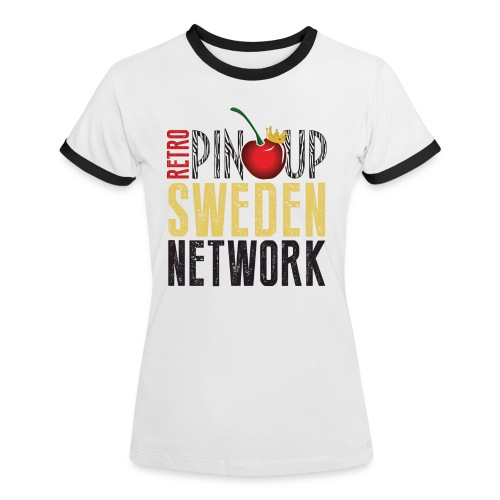 Crewshirt Potential - Kontrast-T-shirt dam
