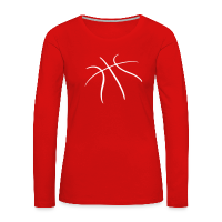 Women's Premium Longsleeve Shirt with design Basketball