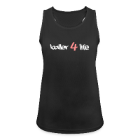 Women's Breathable Tank Top with design baller 4 life