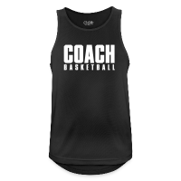 Men's Breathable Tank Top with design Basketball Coach