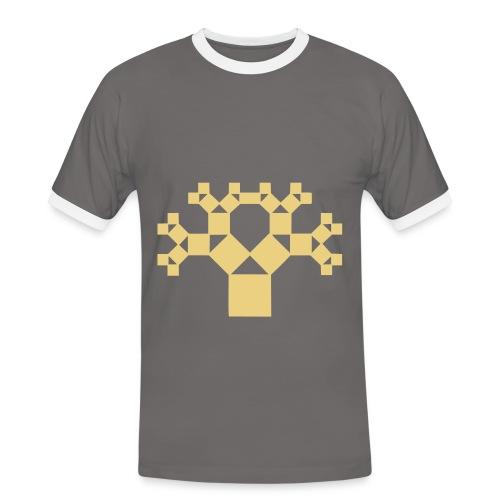 T shirt - T-shirt contrasté Homme