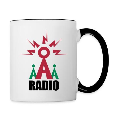 The Access All Aerials Personalised Mug - Contrasting Mug