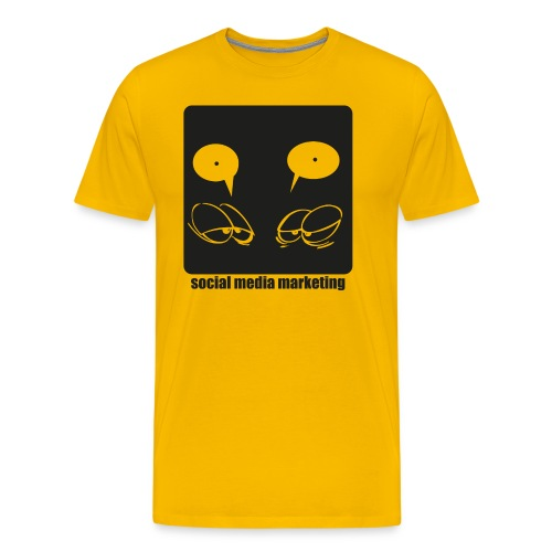 Sozial Media Marketing - Männer Premium T-Shirt