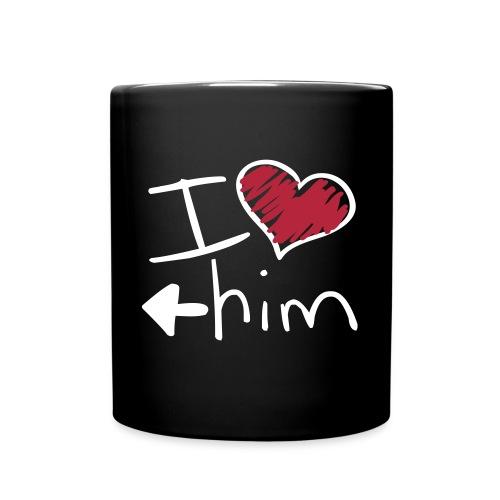 Le mug de l'amoureuse - Mug uni