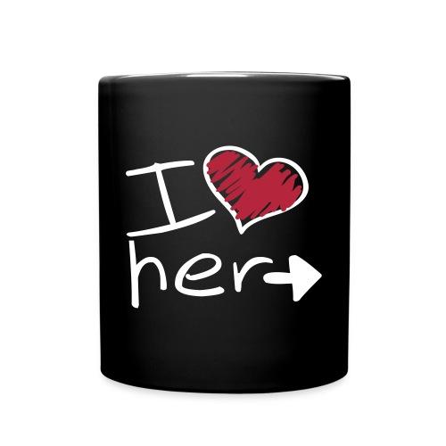 Le mug de l'amoureux - Mug uni