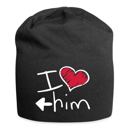 Le bonnet de l'amoureuse - Bonnet en jersey