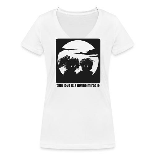 Wahre Liebe - Frauen Bio-T-Shirt mit V-Ausschnitt von Stanley & Stella