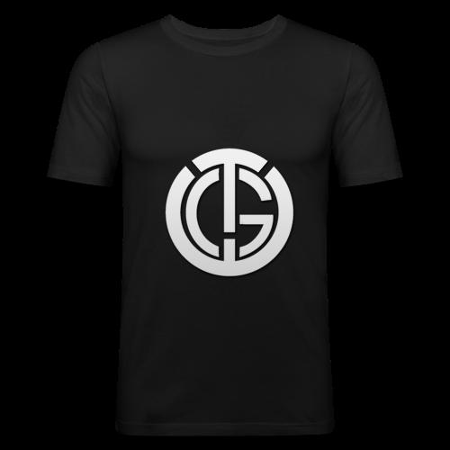 'TheGamerEagle' Logo Men's Slim Fit T-Shirt - Men's Slim Fit T-Shirt