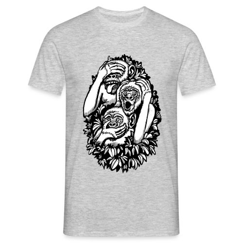 THE MONKEY SHIRT - Männer T-Shirt