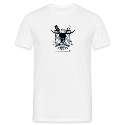 BBQ-Shirt mit Logo in der MItte - Männer T-Shirt