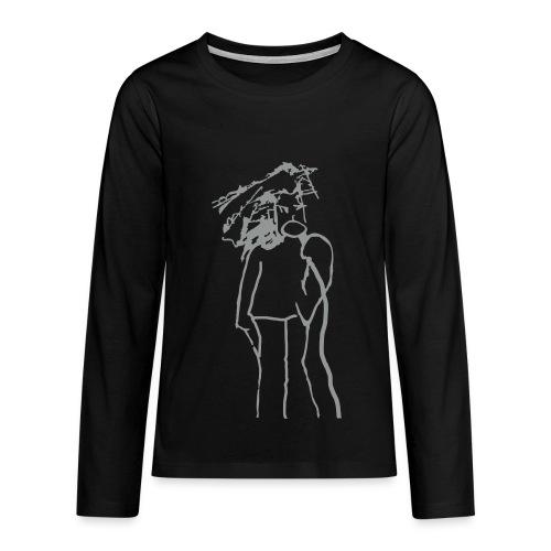 vocals - Teenager Premium Langarmshirt