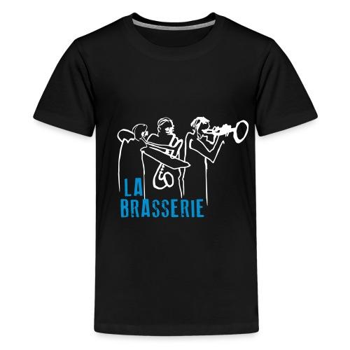 bläserreihe - la brasserie - Teenager Premium T-Shirt