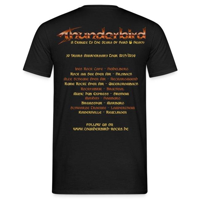 Thunderbird - for men - Tourshirt 2016