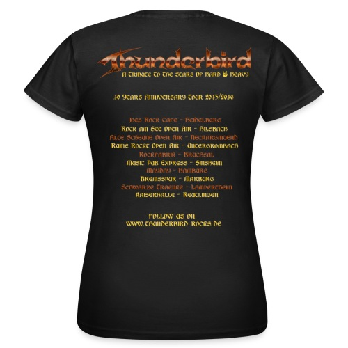 Thunderbird - just for girls - Tourshirt 2016 - Frauen T-Shirt