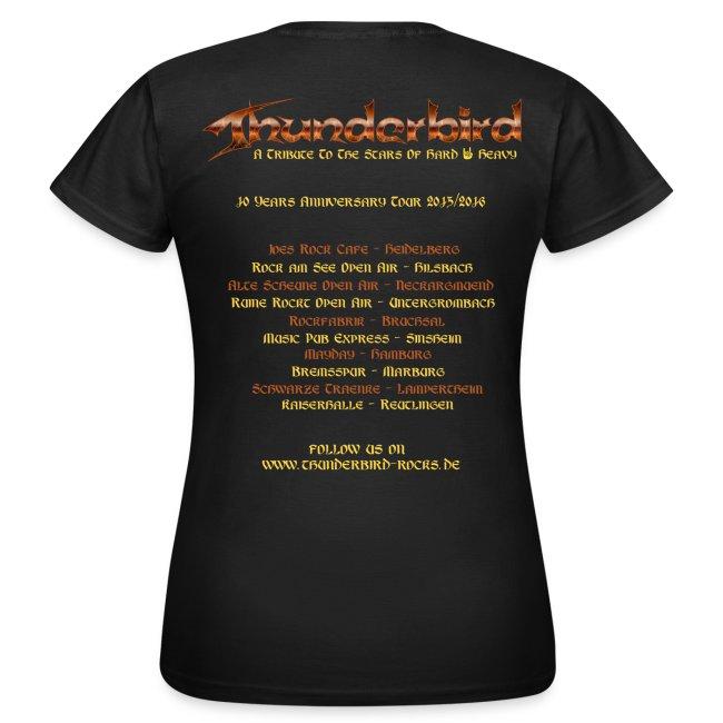 Thunderbird - just for girls - Tourshirt 2016
