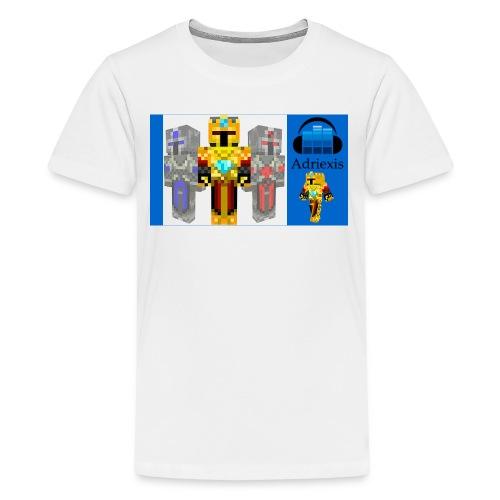 Adriexis og to 10 til 12 år - Premium T-skjorte for tenåringer
