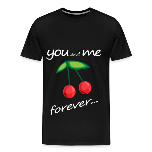 YMF Cherries - Maglietta Premium da uomo