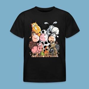 Tiere Farm - Kinder T-Shirt