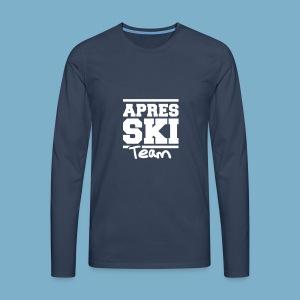 Apres Ski Team - Männer Premium Langarmshirt