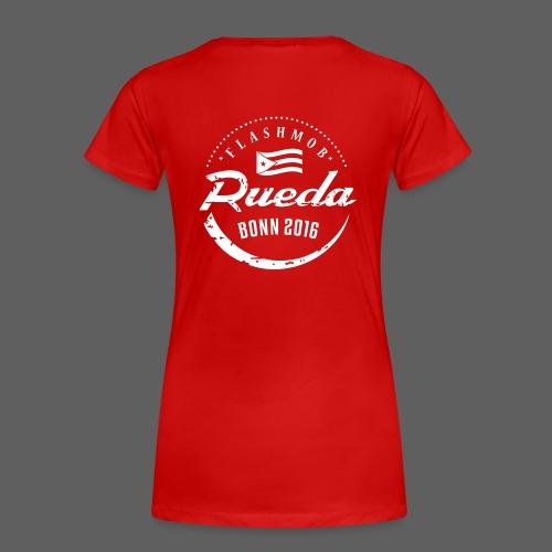 Damen T-Shirt rot - Frauen Premium T-Shirt