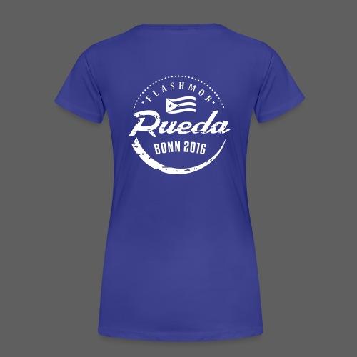 Damen T-Shirt blau - Frauen Premium T-Shirt