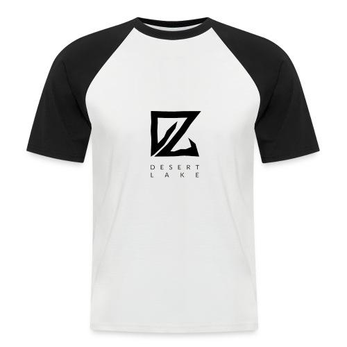 Desert Lake Logo Premium Baseball Men's Shirt - Männer Baseball-T-Shirt