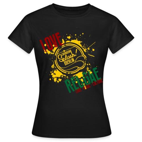 LMC REGGAE blck wmn - Frauen T-Shirt
