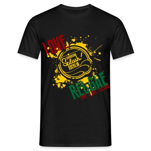 LMC REGGAE blck  - Männer T-Shirt