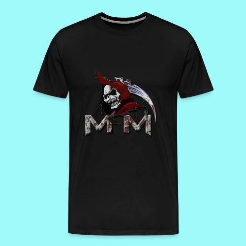 Male Memento Moriendo T-Shirt - Men's Premium T-Shirt