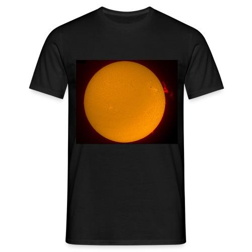 Sonne H-Alpha - Männer T-Shirt