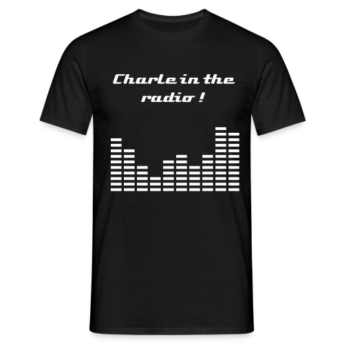 TEE SHIRT CHARLES IN THE RADIO - HIT STATION Edition Limité !  (Hors Série Marque)  - T-shirt Homme