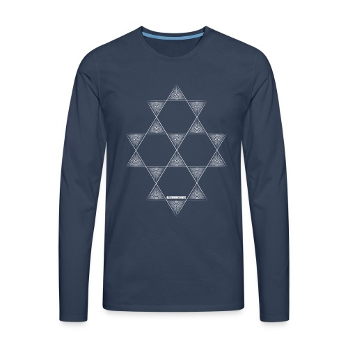 Blue Star Longsleeve - Men's Premium Longsleeve Shirt