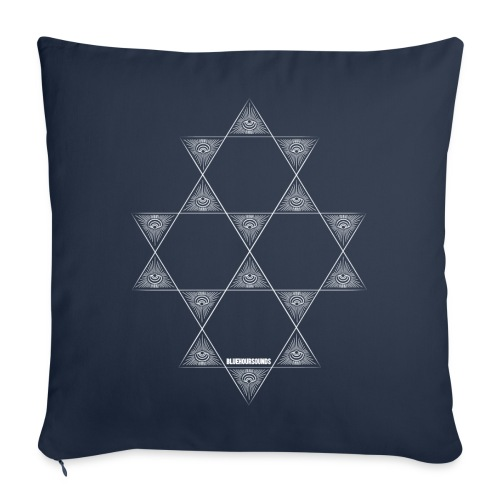 Easy peasy Blue Star pillow - Sofa pillow cover 44 x 44 cm